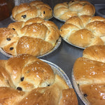 RHS Traditional Sweet Round Challah with Raisins