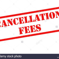 Order cancellation fees