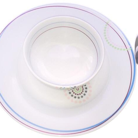 Disposable Plates, cup and cutlery dinner set for 1 person