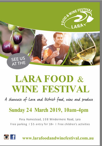 Lara Food & Wine Festival 2019 - See you there!!