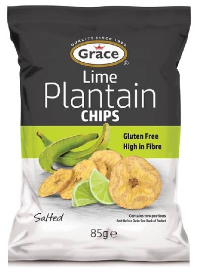 Grace Plantain Chips Lime