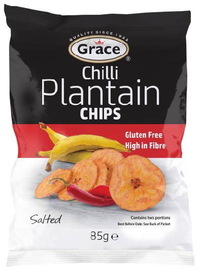 Grace Plantain Chips Chilli