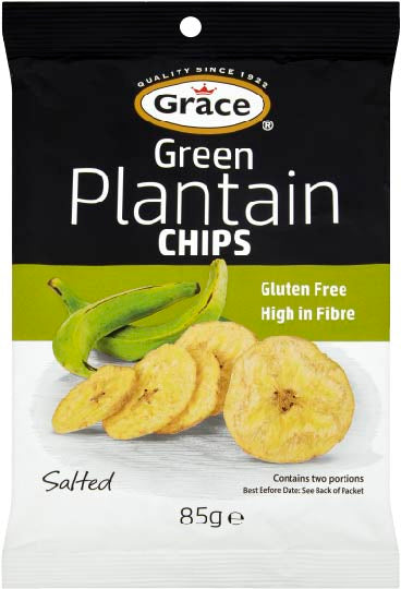 Grace Plantain Chips Green