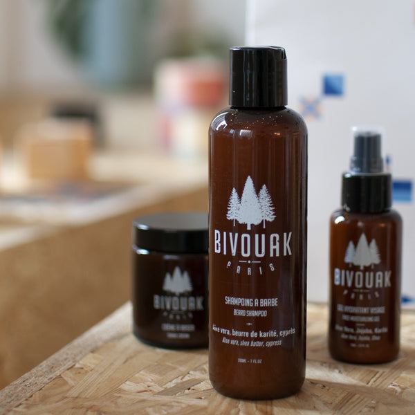 Shampoing barbe naturel homme Bivouak - Archipel