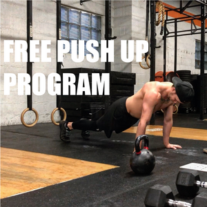 FREE 4 WEEK PUSH-UP PROGRAM!