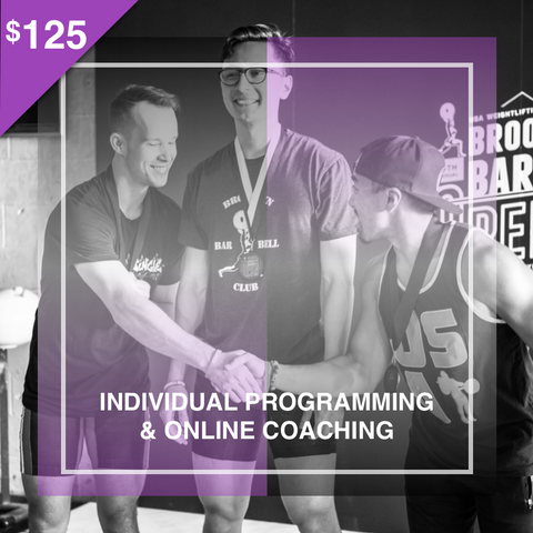 Individual Programming & Coaching (2 Months) - cobra-performance-nyc
