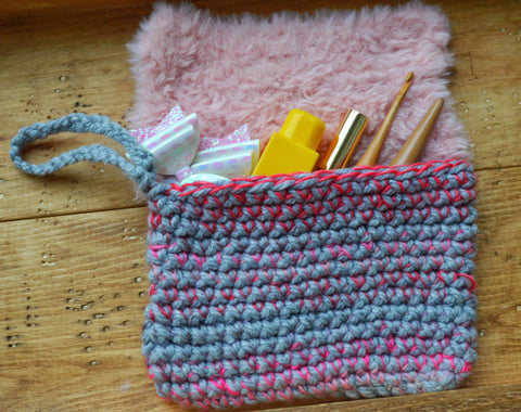 Crochet Clutch Purse