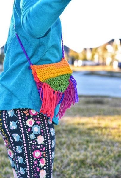 Rainbow Child Purse