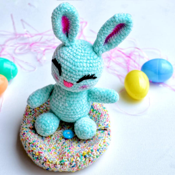 Bunny with egg color choice