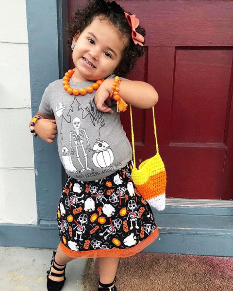 Candy Corn Purse