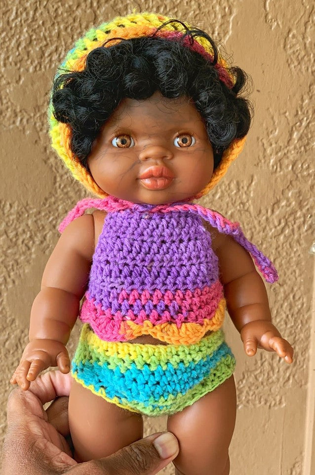 Candy Rainbow  Doll Clothing Set