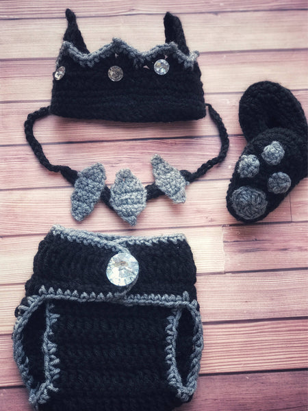 Crochet Black Panther Inspired Outfit