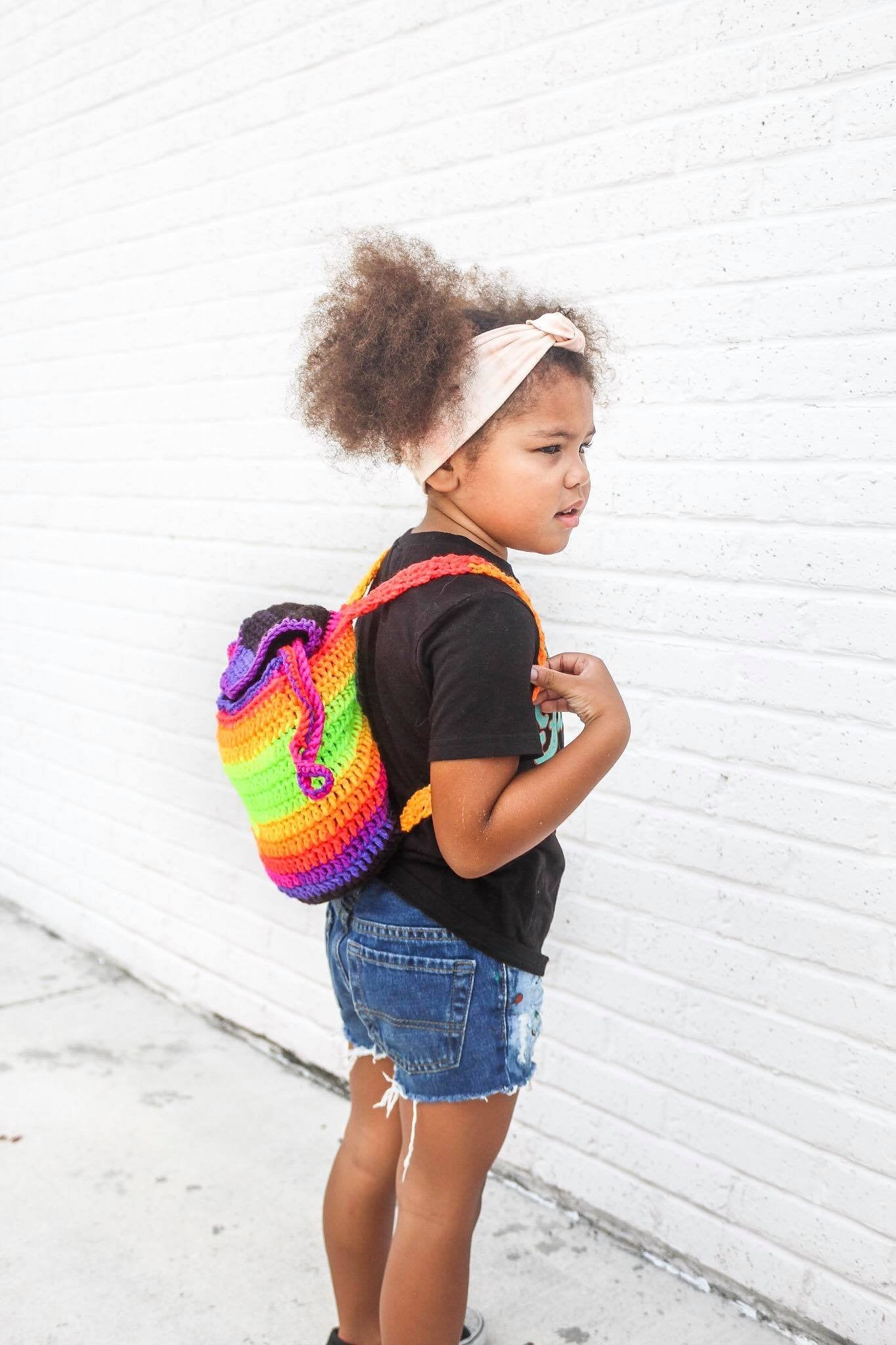 Neon Backpack