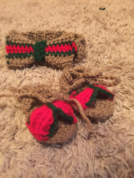 Gucci Inspired Headband Bow and Sandals