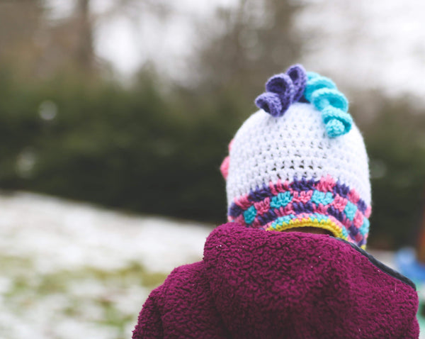 Unicorn Winter Hat | Crochet Winter Hat