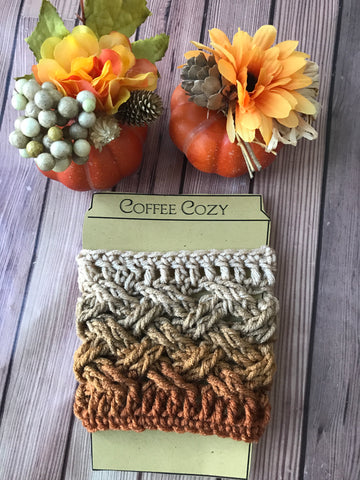 Brown ombré cozy