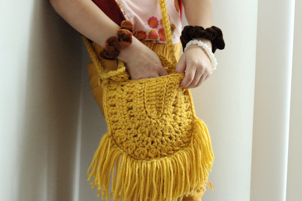 Girl  Crochet Purse