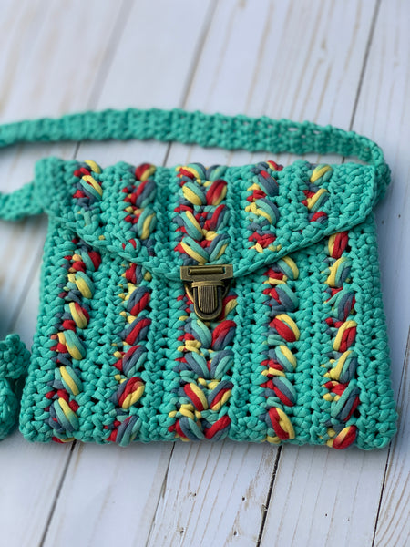 Clutch  Crochet Purse