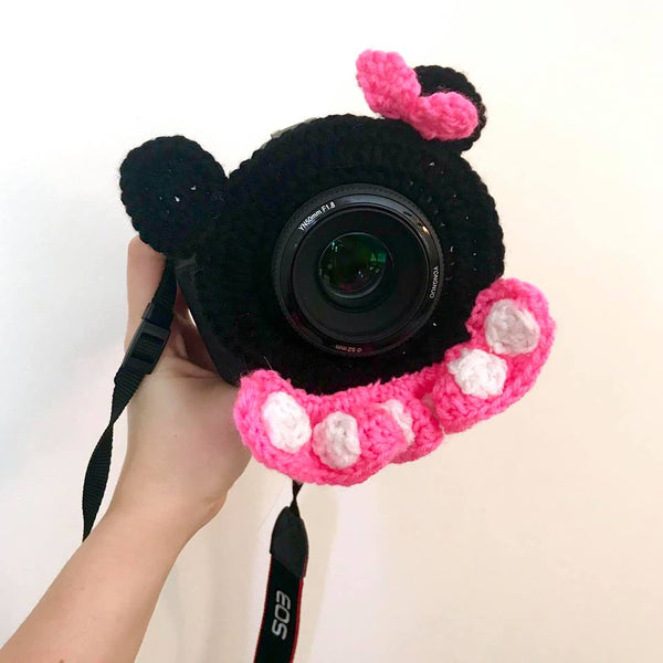 camera lens covers crochetmethis