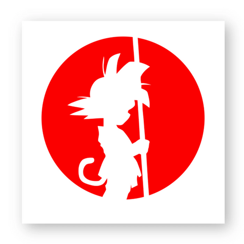 "Sticker ""Goku enfant"""