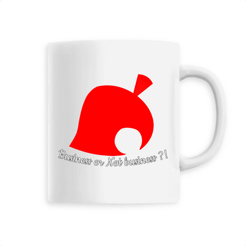 "Mug céramique ""Business or Not Business ?!"" Animal Crossing - Mangaku974"
