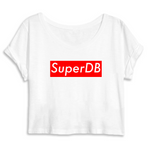 "Crop top femme ""Super DB"" Dragon Ball Super - Mangaku974"