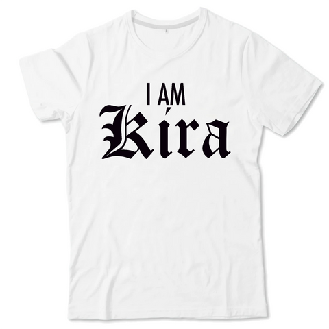 "T-shirt Enfant "" I AM Kira"" Death Note"