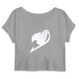 "Crop top femme ""Fairy Tail"" - Mangaku974"