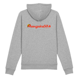 "Sweat à capuche ""Mangaku974"""
