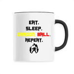 "Mug céramique ""Eat Sleep Dragon Ball Repeat"" - Mangaku974"