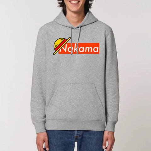 "Sweat à capuche ""Nakama"" One Piece - Mangaku974"