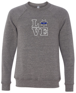 LOVE - 7 Point Star Badge Crewneck (with or without badge number)