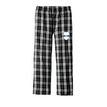 Plaid Flannel Lounge Pants with Badge - (with or without Badge Number)