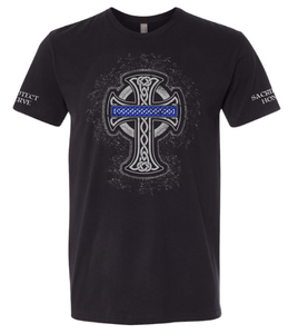 Celtic Cross - Unisex Adult Soft Cotton T-shirt