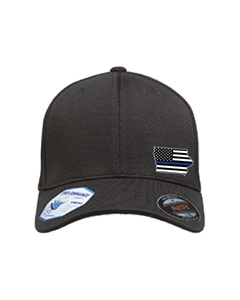 Cap Flexfit with Iowa Emblem in Ultrafibre and Airmesh WITH BADGE NUMBER