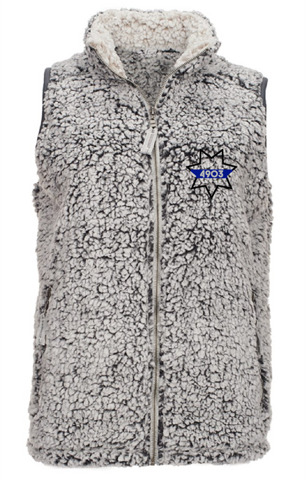 Sherpa Vest - 7 Point Star with Badge Number