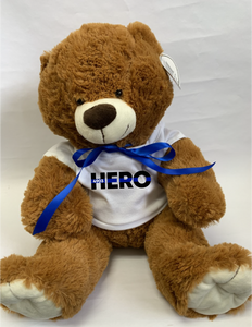 Hero Plush - Teddy Bear with or without a badge number