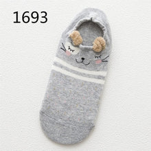 Load image into Gallery viewer, Women's Kawaii Cute Cat With Dog Socks - Great Dog Shop