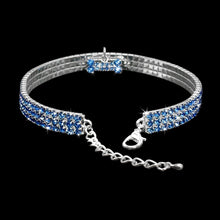 Load image into Gallery viewer, Bling Rhinestone Dog Collar Crystal Puppy - Great Dog Shop