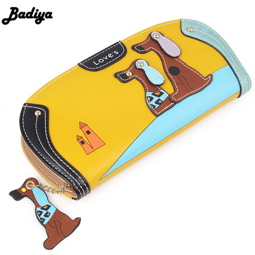 Fashion CuteWallet Phone Case Puppy Zipper Card Holder Change Purse - Great Dog Shop