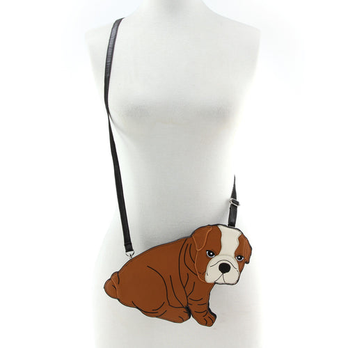 Little Bull Dog X  Bag/purse In Viny $10 off - Great Dog Shop