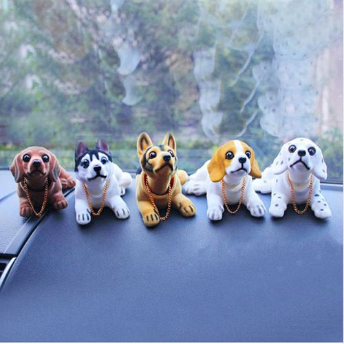 Bobble Head Dog / Dashboard dog bobble head - Great Dog Shop