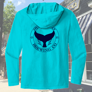 OB Branded Comfort Colors Long Sleeve Hooded Tee
