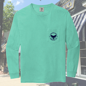 OB Branded Comfort Colors Long Sleeve Pocket Tee