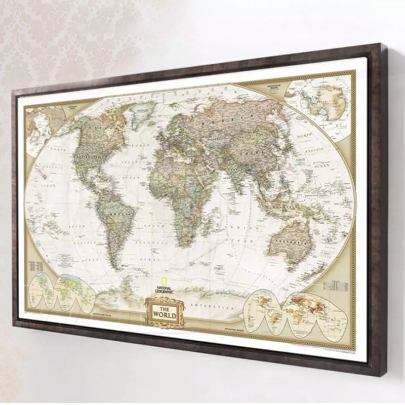 MAP OF WORLD | VINTAGE