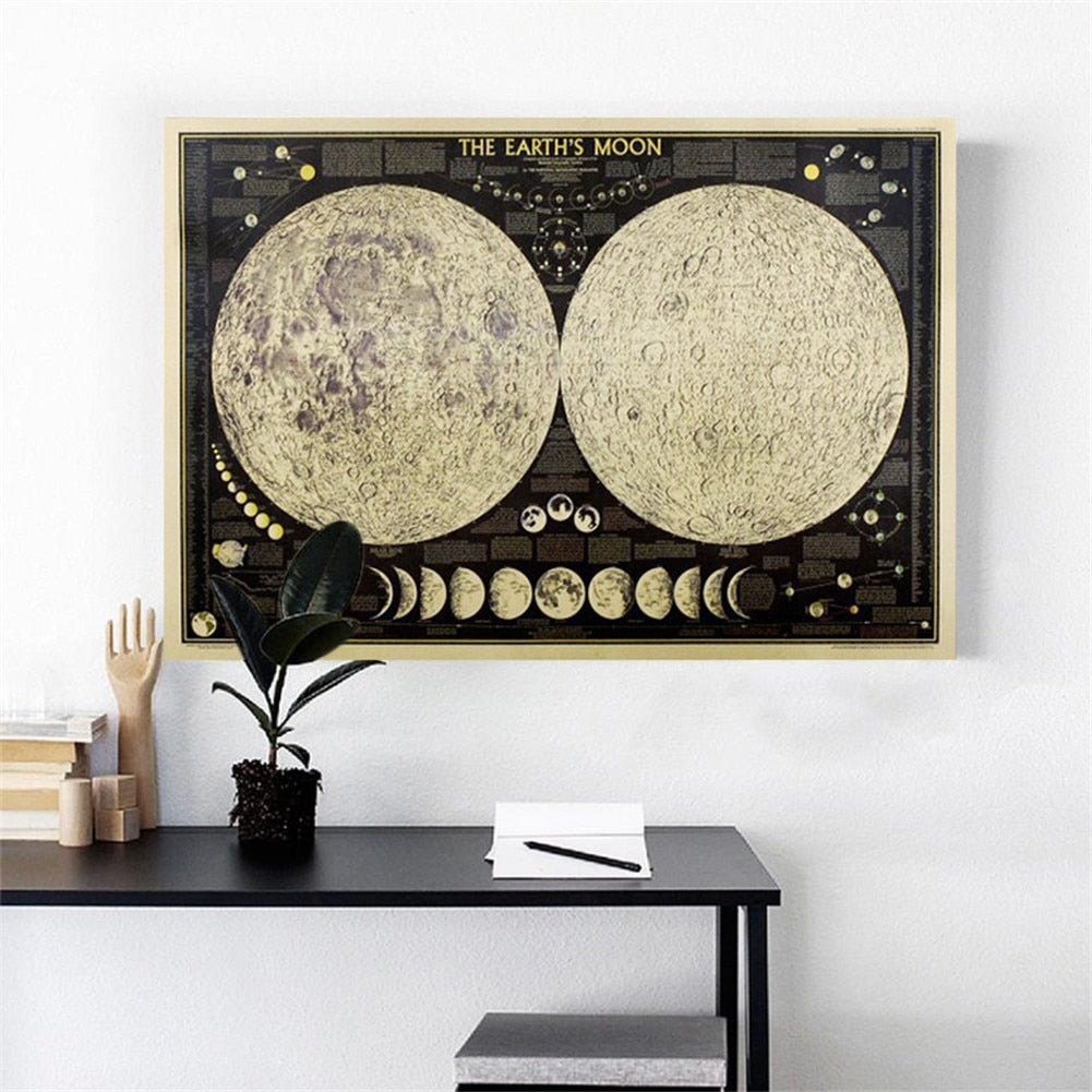 HOME MOON DECORATIVE