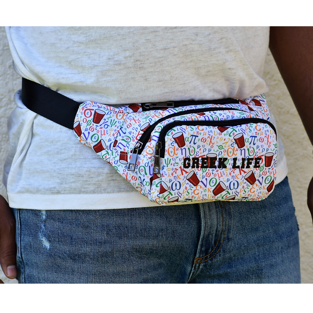 The-Official-Retro-Bag-Shop-Greek-Life-Fanny-Pack-Front-Model