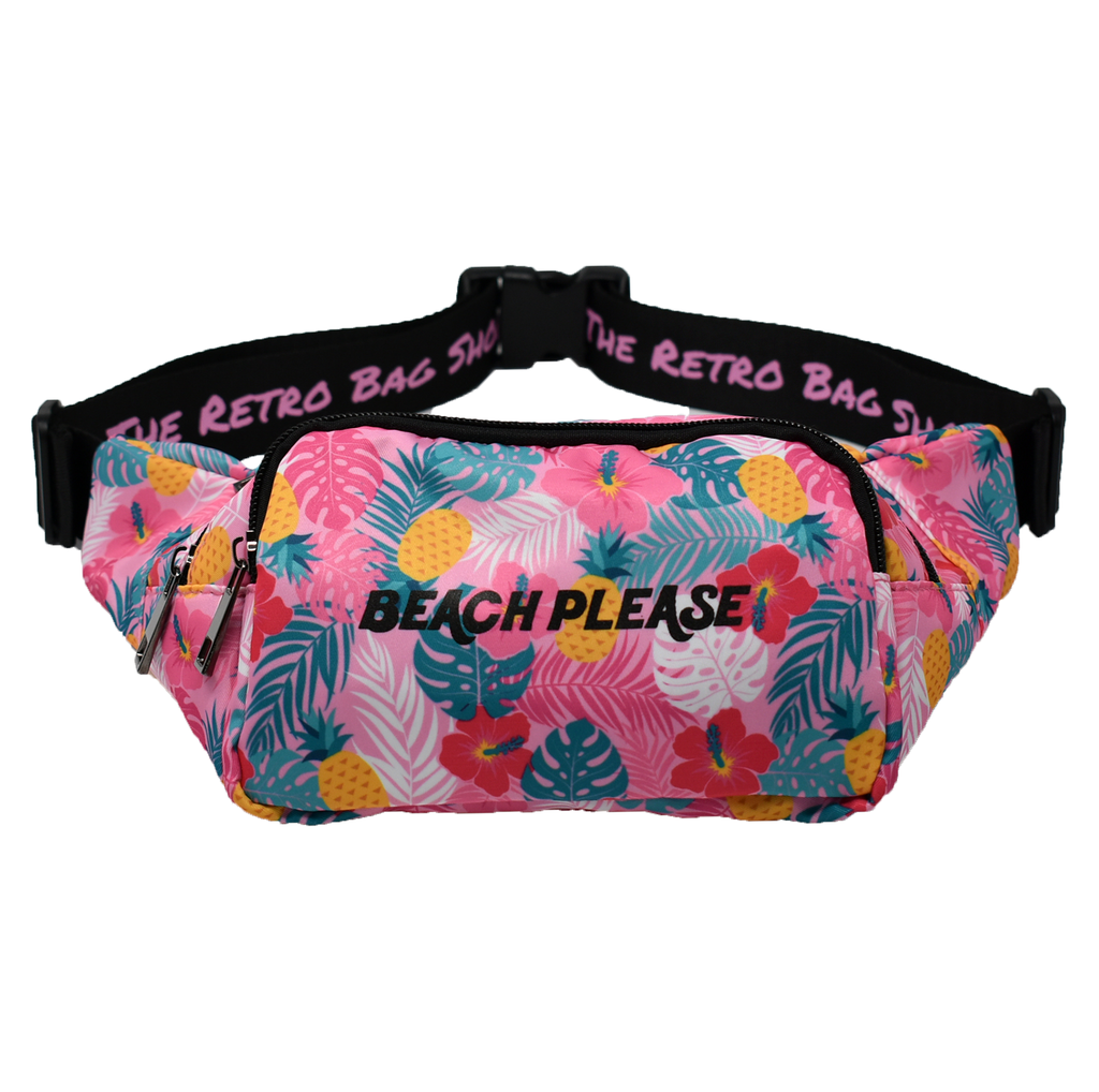 The-Official-Retro-Bag-Shop-Beach-Please-Fanny-Pack-Front-View