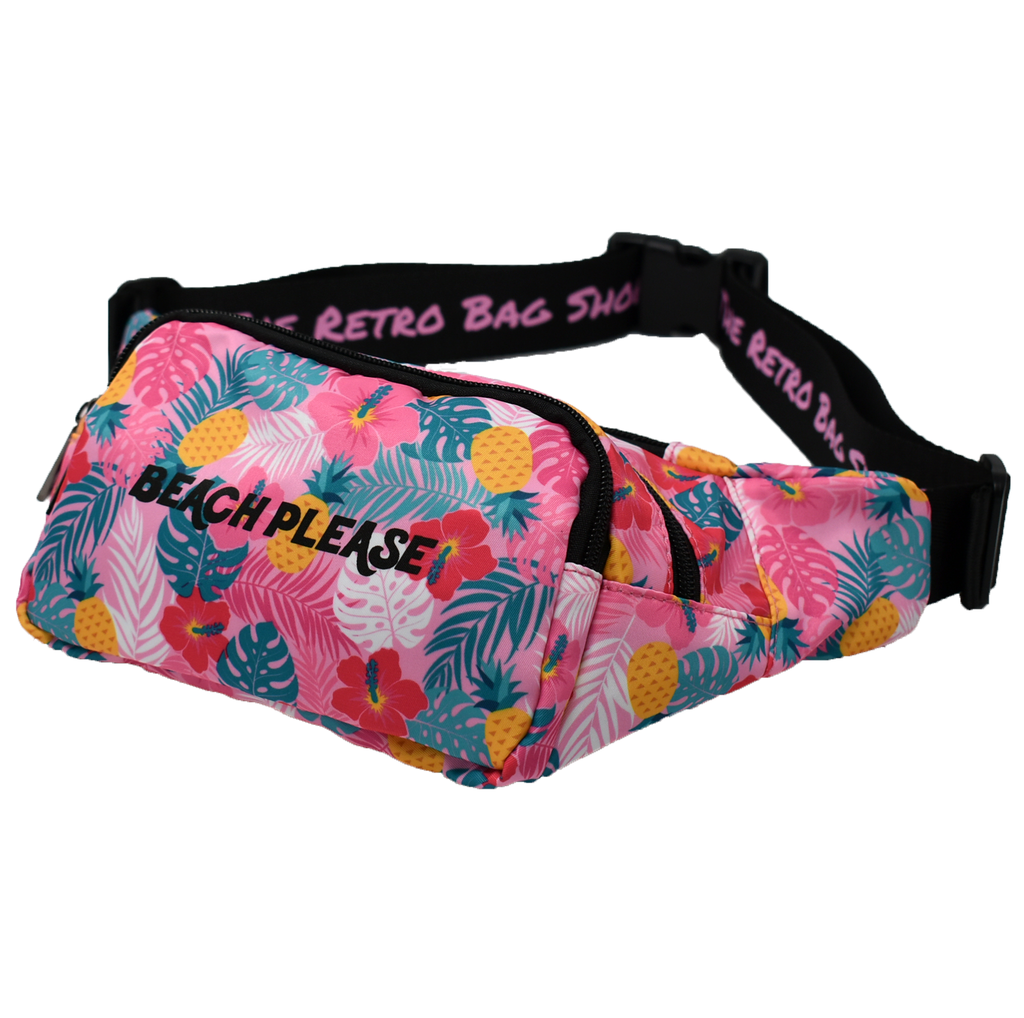 The-Official-Retro-Bag-Shop-Beach-Please-Fanny-Pack-Front-Side-View