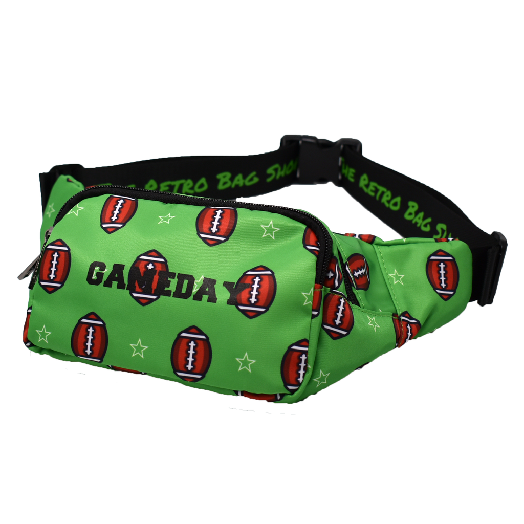 The-Official-Retro-Bag-Shop-Game-Day-Fanny-Pack-Front-View